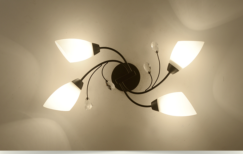 DX Rotate Flowe rLed Chandelier (3)