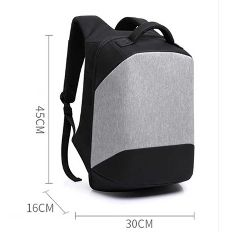 KAKA мужской рюкзак мужская черная школьная сумка Школьный USB зарядка ноутбук дорожная сумка спортивная сумка рюкзак противоугонные рюкзаки