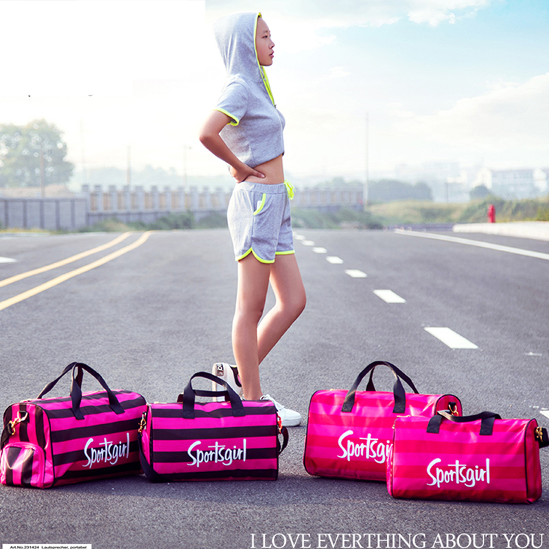 050 Fashion Travel slanted spanning hand lift bag travel bag in Travel Bags from Luggage Bags