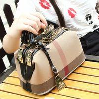 New Handbag Luxury Women Bag Fashion Simple Doctor Bag Female Canvas Ladies' Shoulder Bag Crossbody bag Brand~Big Capacity 1105