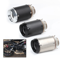 Motorcycle muffler exhaust pipe modified escape moto ar stickers exhaust for Honda cb750 z800 fzl r6 t25 cbr1000 cbr650f er6n r3