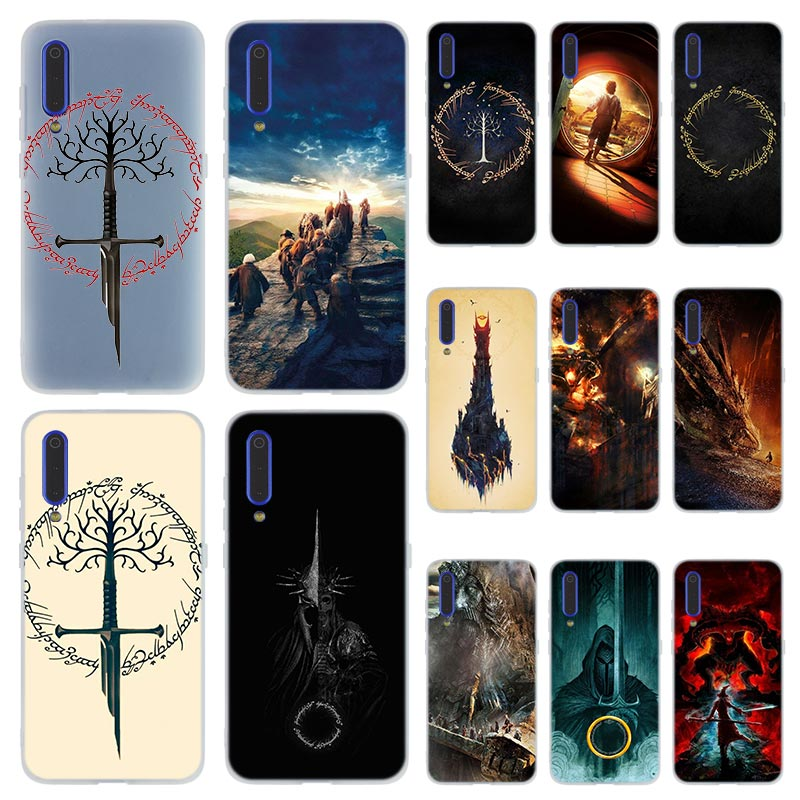 Phone Case for Xiaomi cc 9 MI 9 8 A2 Lite SE A1 pocophone f1 6 6X 5X MAX 3 MIX 2S Cover Mi9 Mi8 Lord of The Rings the one ring