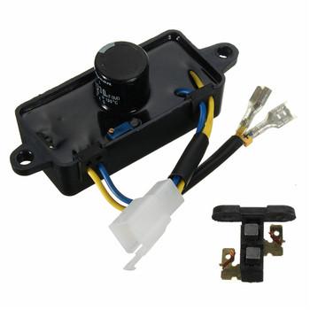 Prostokąt 2KW-3KW automatyczny regulator napięcia generator benzynowy AVR + szczotka węglowa promocja tanie i dobre opinie Single Phase