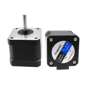 40MM High torque 42 Stepper Motor 2 PHASE 4-lead Nema17 motor 42BYGH40 40MM 1.7A 0.45N.M LOW NOISE (17HS2401) for CNC XYZ(China)