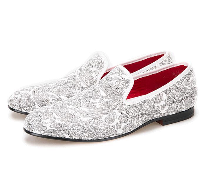White Mens Dress Shoes