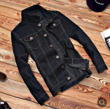 Homme vestes d'automne 2018 nouveau adolescent minceur denim veste étudiant version Coréenne tendance veste D194