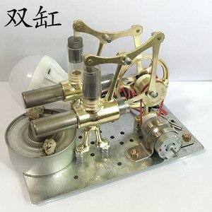 Image 3 - Balance Stryn motor miniatur modell dampf power technologie kleine produktions kleine power generation experimentelle spielzeug