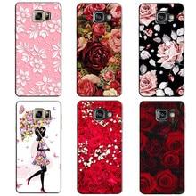 Для samsung galaxy a5 2017 версия a5 (7) sm-a520f a5200 печатных телефон cover case для galaxy a5 2017 оригинал задней обложки shell