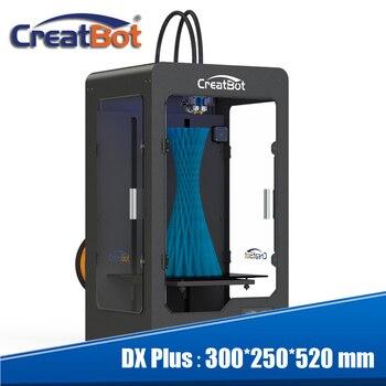 2015 Newest Black Color Large 3d printer double extruder printer 3d famous creatbot brand impressora 3d