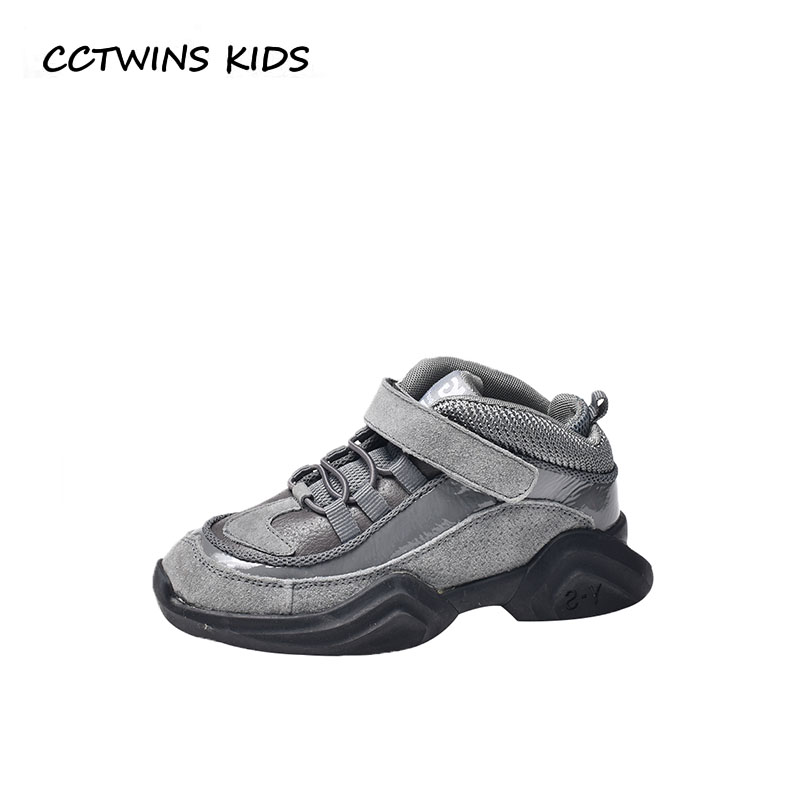 купить CCTWINS KIDS 2018 Autumn Children Fashion Sport Sneaker Baby Boy Brand Casual Trainer Girl Black Shoe Toddler FS2468 по цене 1881.54 рублей