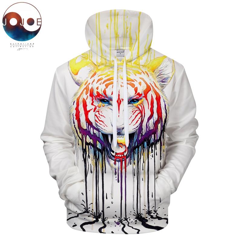 Fading by JojoesArt 3D Lion Printed Hoodies Color Sweatshirts Fashion Tracksuits Novelty Streetwear Drop Ship Brand ZOOTOP BEAR