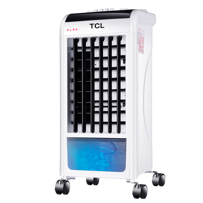 Cold And Warm Type Air Conditioning Fan 2000W High Power Household Air Cooler Refrigerator Movable Small Air Conditioning