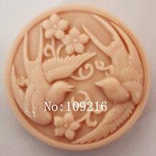1 шт диких гусиных летающих(zx926) силиконовые формы для мыла ручной работы DIY прессформы