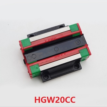 4pcs/lot HGW20CA ( HGW20CC ) Slider Block Flange Carriage Block Match Use HGR20 20mm Linear Rail Guide CNC DIY Parts China made