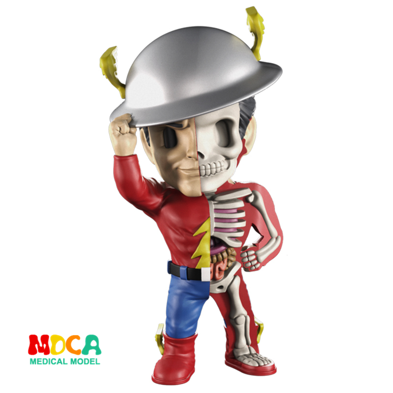 Lightning man 4D XXRAY master Mighty Jaxx Jason Freeny anatomy Cartoon ornament cacti mighty 4d xxray master mighty jaxx jason freeny anatomy cartoon ornament