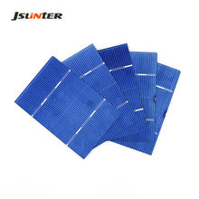 JSLINTER 50pcs Cheap Solar Cell Battery Silicon Power for DIY Poly mini Solar Panel China 0.5V 1.46A 78mm x 52mm
