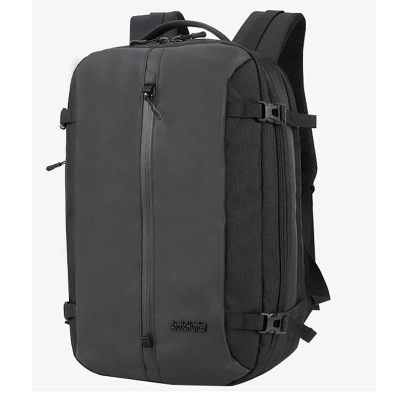 ARCTIC HUNTER Laptop Backpack Men Travel Bags Multifunction Rucksack Waterproof Oxford Black School Backpacks For Teenagers M672
