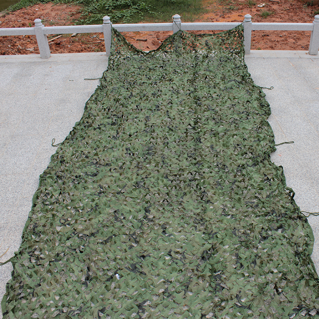 2 X5M anti - aerial photography Sun awning camouflage net hide outdoor camping hunting off-road Desert ocean jungle hidden