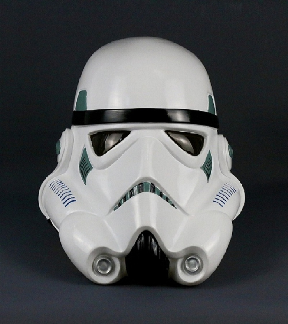 Star Wars Helmet PVC Stormtrooper Mask Wearable Cosplay Helmet Masks Full Face PVC Adult Party Prop