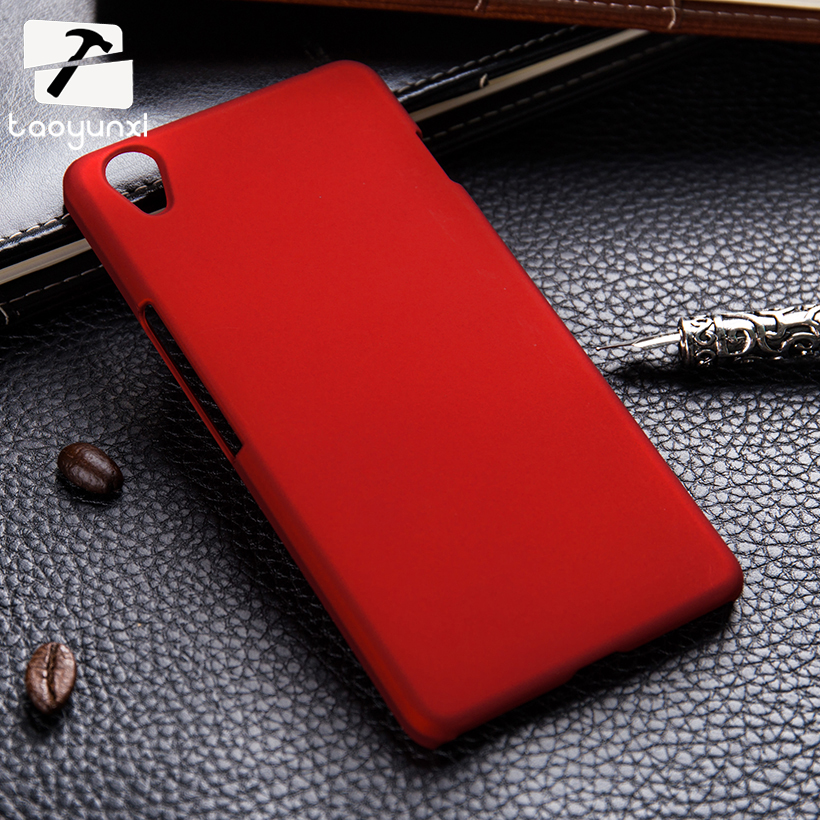 watch 828fa e66ab US $1.39 30% OFF|TAOYUNXI Matte Cases For OnePlus X One Plus X E1001 E1003  Plastic Phone Cover For OnePlus X Case Oil Coated Shell Hood 5.0 inch-in ...