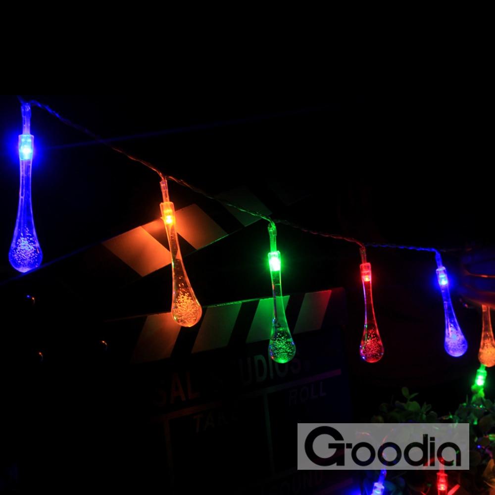 4.3M ledd lys med 40led ball AA batterier ferie dekorasjon lampe - Ferie belysning - Bilde 6