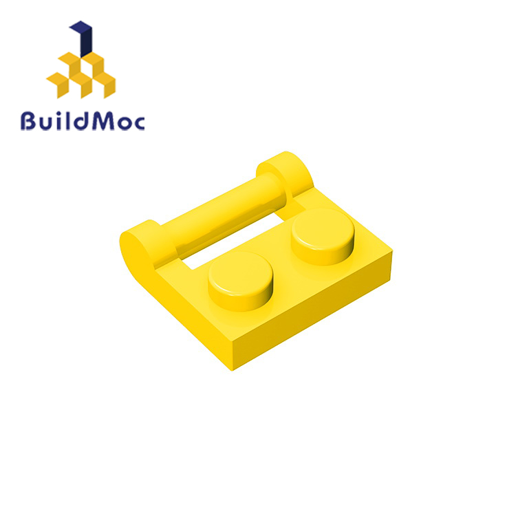 BuildMOC 48336 1x2 For Building Blocks Parts DIY LOGO Educational Creative Gift Toys