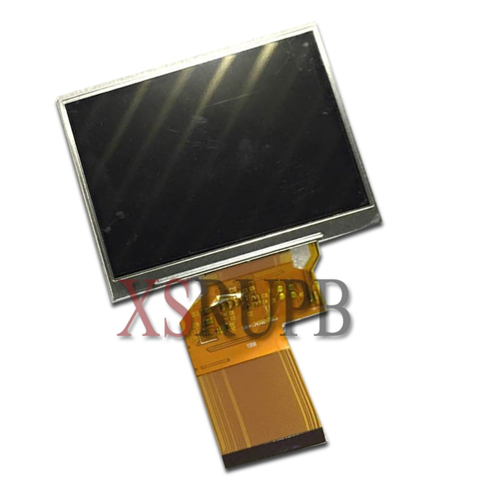3.5 Inch HD TFT For LQ035NC111 LQ035NC121 For Satlink WS-6906 WS 6906 Satellite Finder LCD Screen Panel (without Touch)
