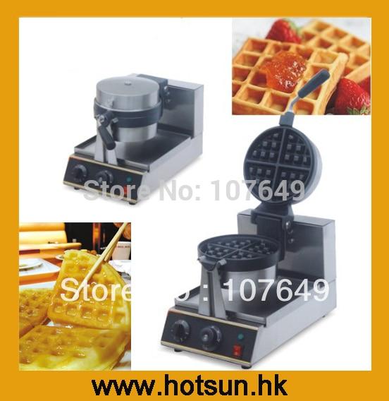 Rotating 220V Electric Belgian Waffle Baker Liege Waffle Maker Machine Iron 2 heads 110v 220v electric belgian liege waffle maker baker machine iron