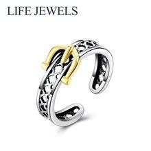 Аутентификация 100% стерлингового серебра 925 пробы кольца с