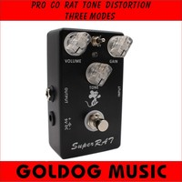 Hand Made Upgraded RAT Distortion Boost Preamp 3 In 1 Amazing Pedal Based On Pro Co