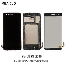 LCD Display For LG K8 2018 SP200 X210 Aristo 2 Plus Touch Screen Digitizer Assembly Replacements Black No/With Frame for lg m210 k8 2017 m210 lcd display screen touch digitizer screen black and silver glass touchscreen with logo in stock