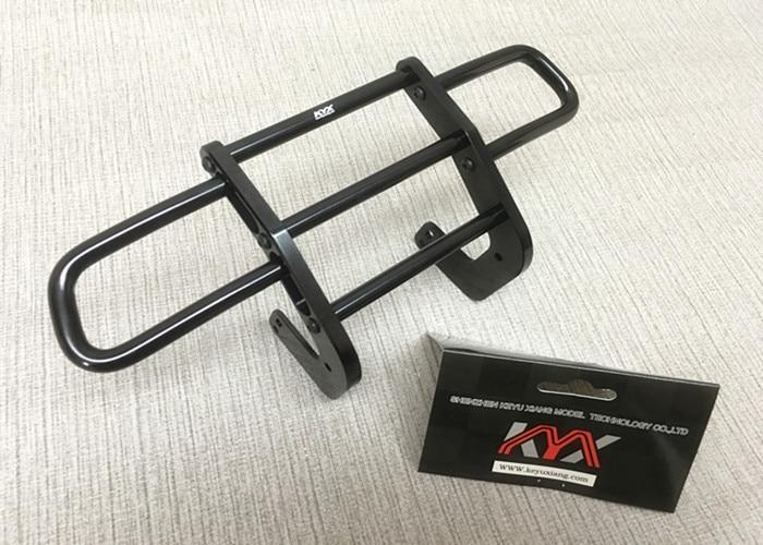 1Set Axial scx10 II CNC Front Bumper Aluminum Anti collision Bar Metal Damper Bracket for 90046