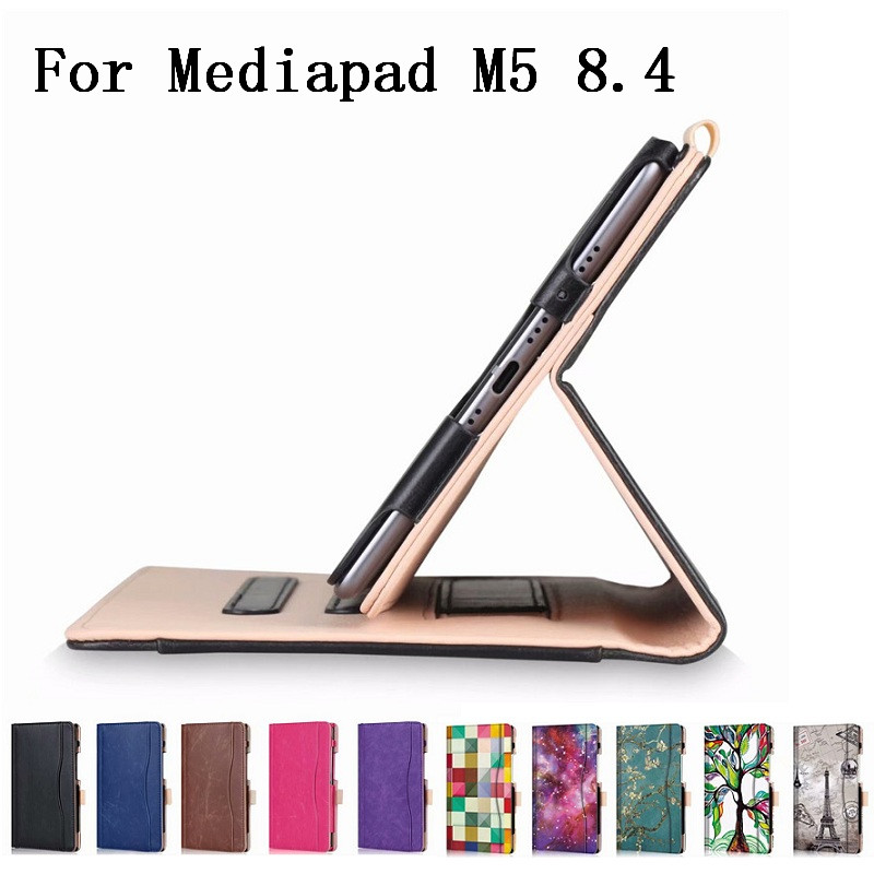 With Card Slot Func Ultra Slim Case For Huawei Mediapad M5 8.4