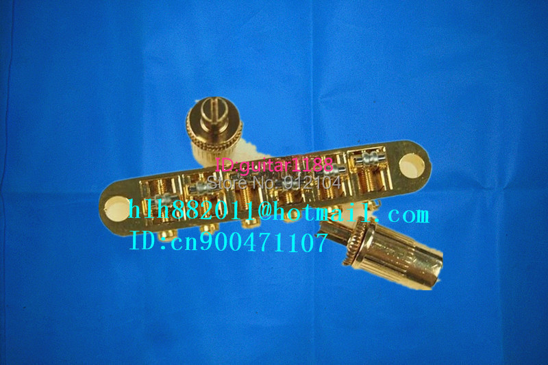 free shipping new  electric guitar bridge BM005 in gold made in Korea 8156 free shipping new electric guitar jade tuning peg in gold guitar button wj44 n22