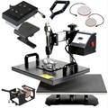 Advanced Design 8 In 1 Combo Heat, Transfer Machine,Sublimation/Heat Press, Machine For Plate/Mug/Cap/TShirt /Phone case 30*38CM