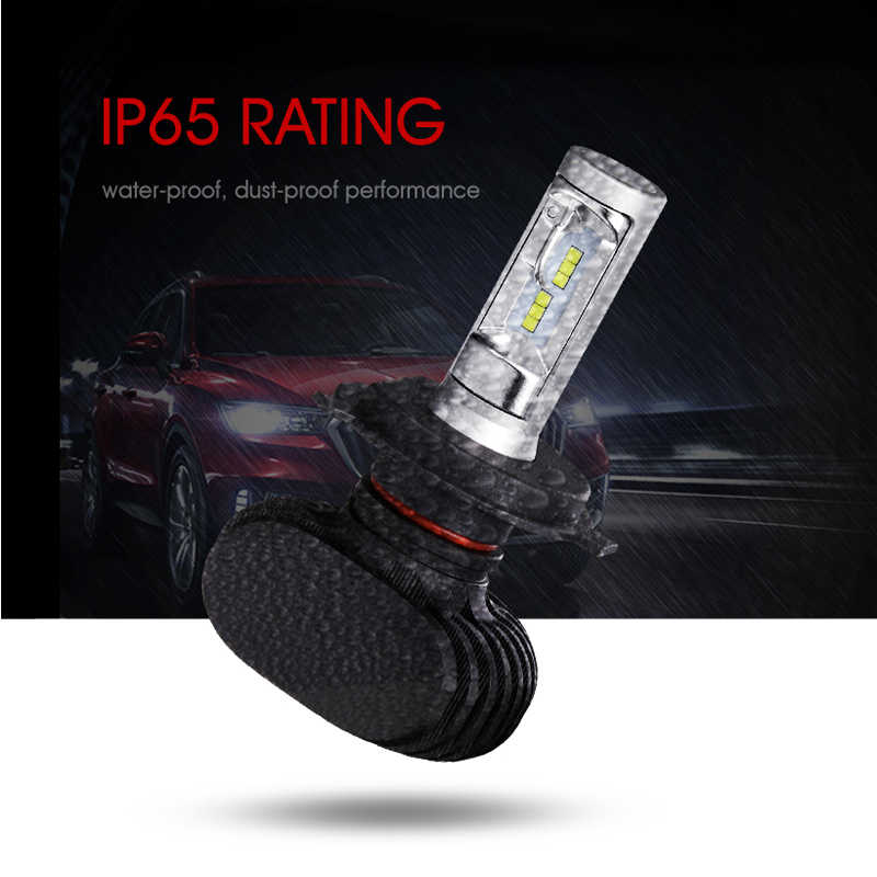 Oslamp Auto H7 Led Headlight 9005/HB3 9006/HB4 Plug-n-Play H4 Led Car Bulbs 6500K CSP Chips 50W 8000lm Fan-less H8 H11 LED Lamp