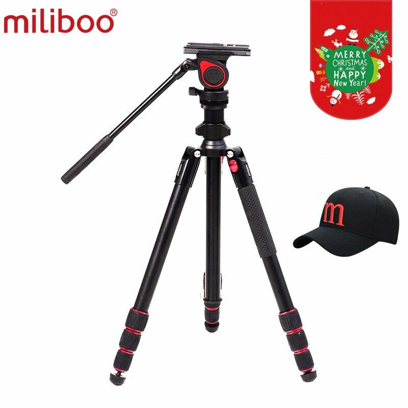 Miliboo MUFA Легкий Путешествия камера видео штатив центральной осевой инверсии Марко стрелять для фотографии открытый движения