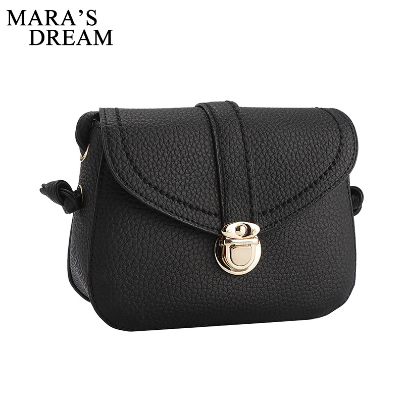 Mara's Dream Fashion Leather Handbags Women Bag Ladies Party Purse Girls Crossbody Shoulder Messenger Bags Bolsa Feminina fashion women leather handbags imperial crown small shell bag women messenger bag ladies shoulder crossbody bag clutches bolsa