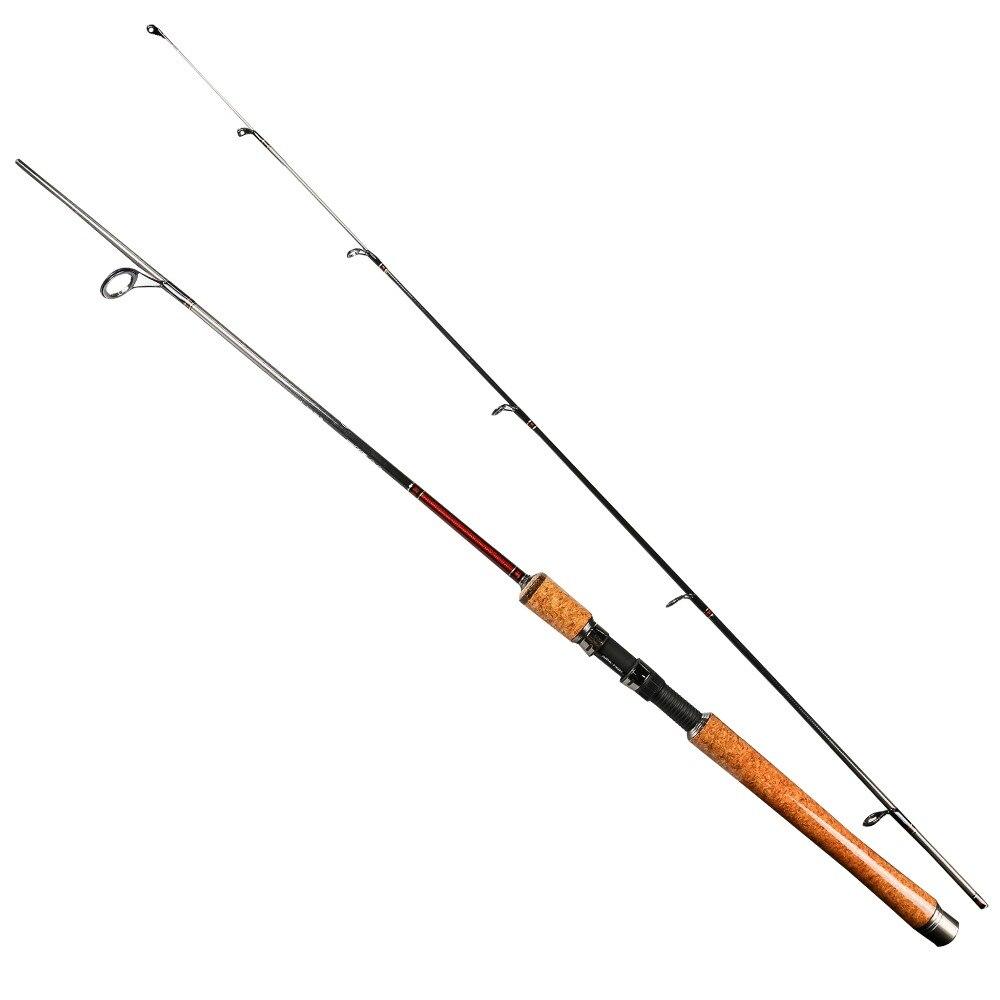 ФОТО  2017 Russian Style Fishing Rod 1.8M 2 Sections Caron Rod Spinning Fishing Rod Lightweight Lure Weight 5-25g Pole vara de pesca