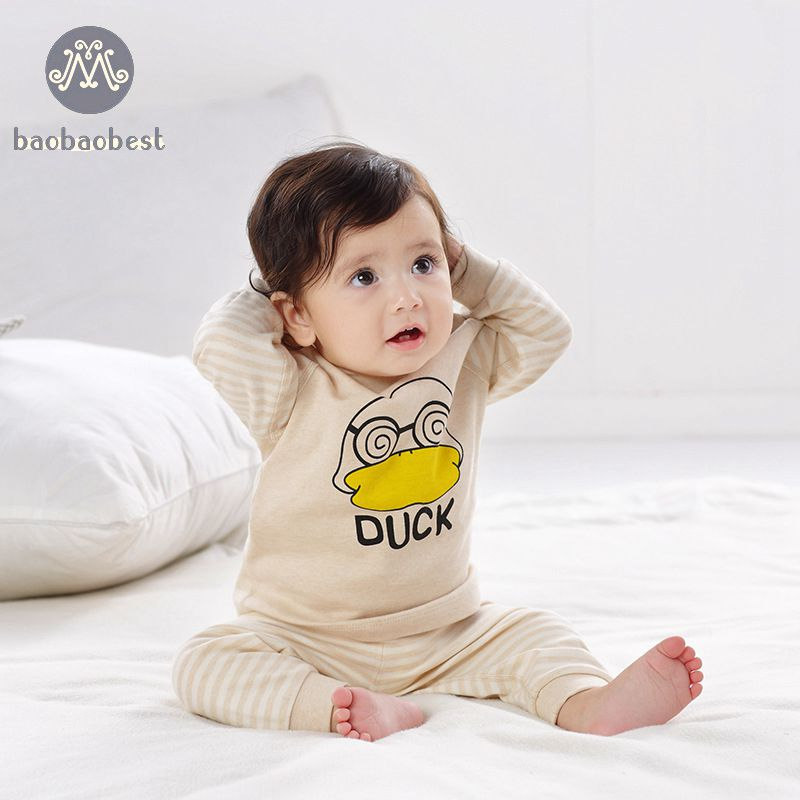 New Baby Suit Cute Cartoon T-Shirt Baby Boys Girl Hoodie Clothing