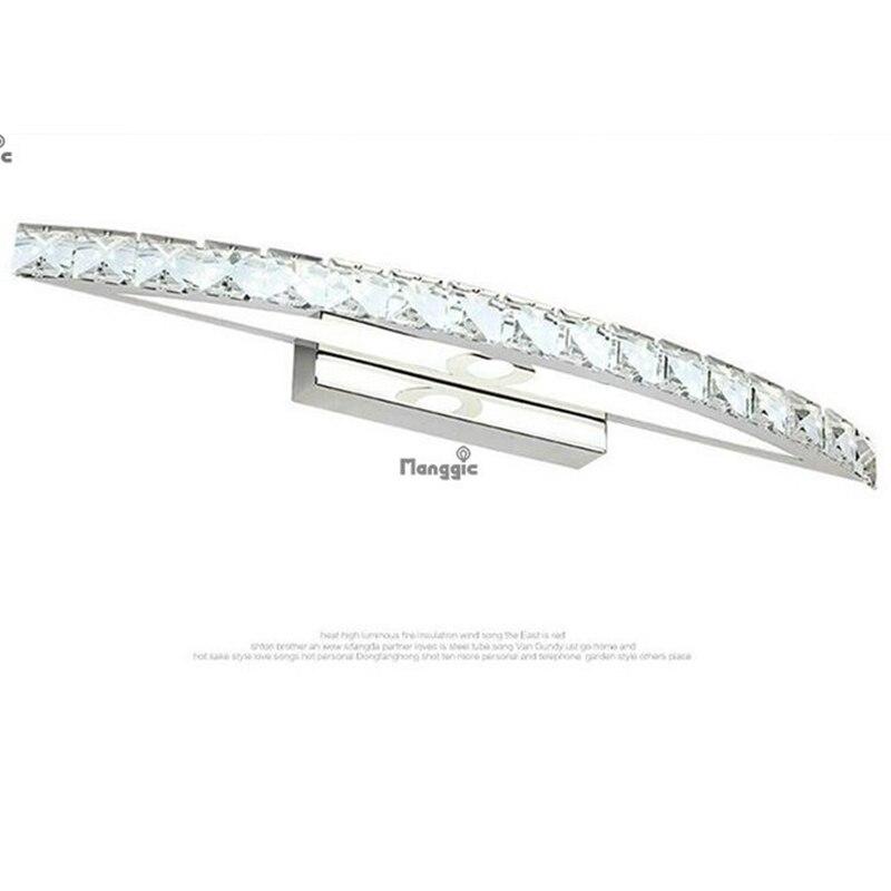 15 W LED K9 cristal miroir lumière 540 MM lampes cool blanc salle de bain miroir lampe AC 85 V ~ 265 V