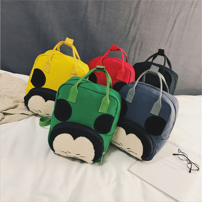 2019 Disney Autumn Winter New Children's Backpack Cartoon Cute Girl Backpack Portable Dual-use Kindergarten Boys And Girls Bags
