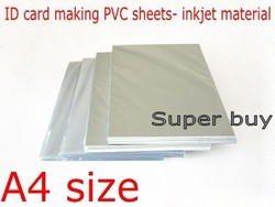 Blank inkjet print pvc sheet white for pvc id card making student card membership card making.jpg 250x250