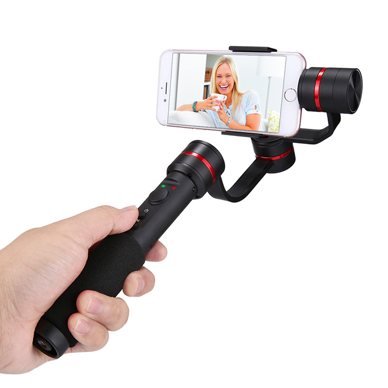 Mobile Phone Photograph Camera Accessory Bundles Three axis Handheld Mobile Phone Head Anti shake Electronic Smart Stabilizer