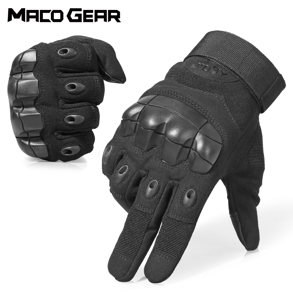Touch Screen Hard Knuckle Full Finger Tactical Gloves Army Military Combat Airsoft Outdoor Climbing Shooting Paintball