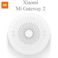 Original Xiaomi Gateway Smart Home Kit Multifunctional Gateway Work With Mi Door Sensor Door Bell Camera