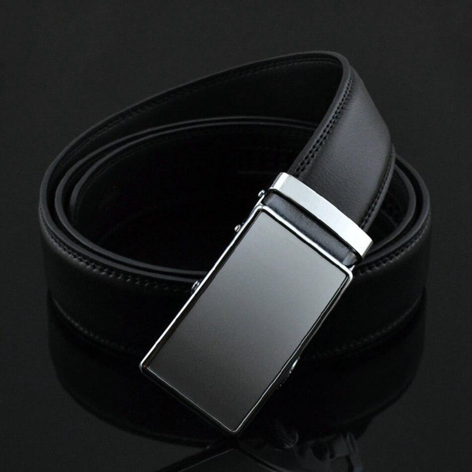 f4895fc272e7 WOWTIGER Automatique boucle Mâle ceinture En Cuir pour Hommes Designers  hommes De Luxe Marque taille Sangle ceinture ceinture homme dans Ceintures  et ...