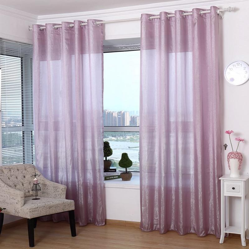 modernas cortinas de tul para las cortinas para el dormitorio saln cocina sparkle ventana cortina escarpada