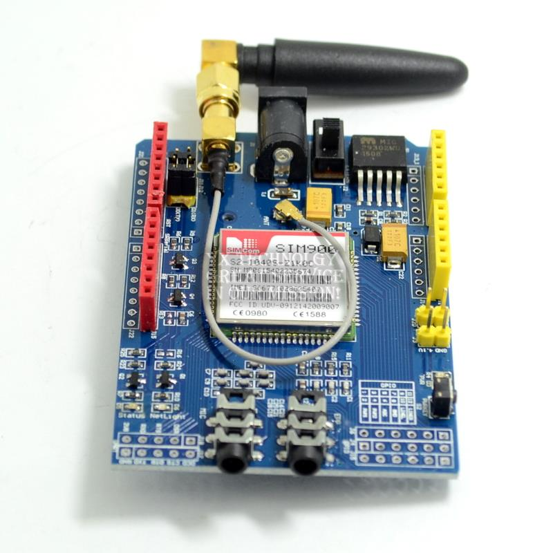 SIM900 GPRSGSM Shield Development Board Quad-Band Module For  Compatible High Quality