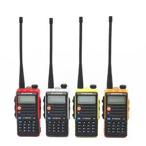 Image 2 - BaoFeng UV B2 Plus 8W High Power FM Transceiver 4800mah Battery BF UVB2 Plus for CB Radio Mobile Radio UVB2 Walkie Talkie Uv b2